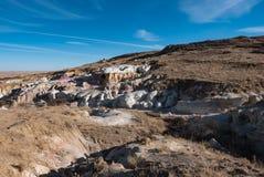 Покрасьте шахты Стоковая Фотография