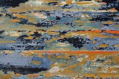 покрасьте шелушение деревянным Стоковые Изображения RF