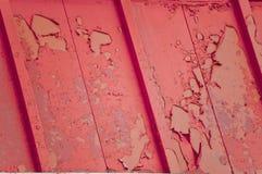 покрасьте шелушение красным Стоковое фото RF