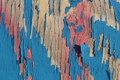 покрасьте шелушение деревянной стоковая фотография rf