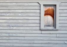 Покрасьте pealing старое здание Стоковая Фотография RF