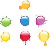 покрасьте splat Стоковое Изображение RF