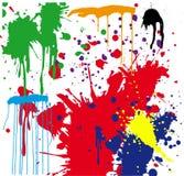 Покрасьте Splatter Стоковая Фотография