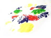 покрасьте staines Стоковые Изображения