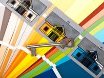 покрасьте swatch Стоковая Фотография RF
