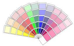 Покрасьте swatch Стоковое Изображение