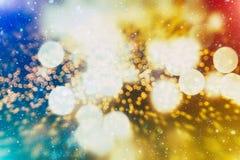 Покрашенная абстрактная запачканная светлая предпосылка Стоковое Изображение RF