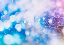 Покрашенная абстрактная запачканная светлая предпосылка Стоковые Фото