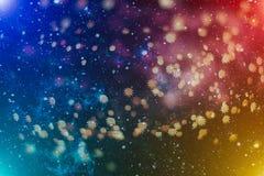 Покрашенная абстрактная запачканная светлая предпосылка Стоковые Изображения