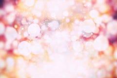 Покрашенная абстрактная запачканная светлая предпосылка Стоковая Фотография