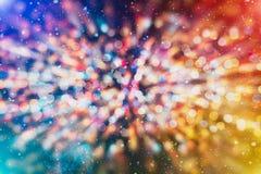 Покрашенная абстрактная запачканная светлая предпосылка Стоковое Изображение