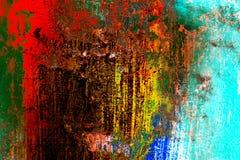Покрашенная абстрактная предпосылка Стоковое Фото