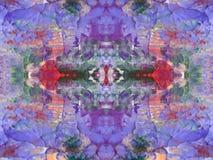Покрашенная абстрактная текстура Стоковая Фотография RF