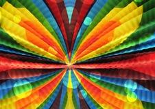Покрашенная абстракция, картина радуги, цвета зарева Стоковые Изображения RF