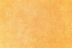 Покрашенная апельсином пастельным предпосылка текстурированная средством абстрактная стоковое изображение rf