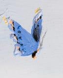 покрашенная бабочка Стоковая Фотография