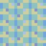 Покрашенная безшовная геометрическая картина Иллюстрация вектора
