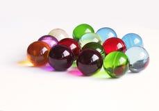 покрашенная ванна шариков стоковое изображение rf