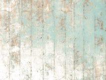Покрашенная деревянная предпосылка в мягком пастельном зеленом цвете Стоковое Изображение