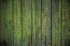 Покрашенная деревянная предпосылка загородки Стоковое Изображение