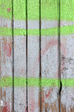 Покрашенная деревянная стена Стоковая Фотография RF