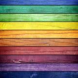 Покрашенная деревянная текстура Стоковое Изображение RF