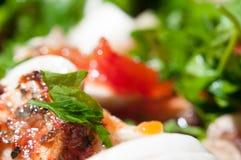 Покрашенная еда Стоковые Фото