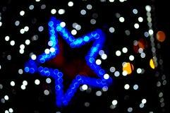 Покрашенная запачканная звезда Стоковое фото RF
