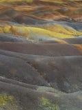 Покрашенная земля вулкана Стоковое фото RF