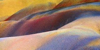 7 покрашенная земля Маврикий Стоковое Изображение