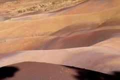 Покрашенная земля Маврикия Стоковое Изображение RF