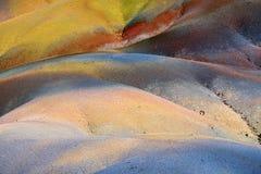 7 покрашенная земля Стоковое Фото