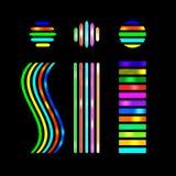 Покрашенная иллюстрация восклицательного знака для дизайна Стоковые Фотографии RF