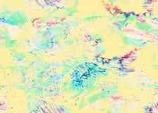 Покрашенная картина акварели Стоковая Фотография