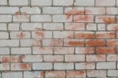 Покрашенная кирпичная стена Стоковые Фотографии RF