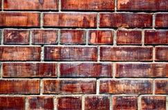 покрашенная кирпичом стена текстуры Стоковые Фотографии RF