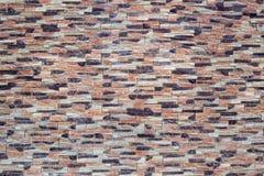 покрашенная кирпичом стена текстуры Стоковое Изображение RF