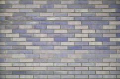 покрашенная кирпичом стена текстуры Стоковые Изображения
