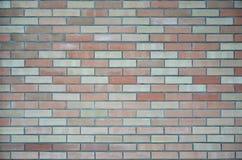 покрашенная кирпичом стена текстуры Стоковая Фотография