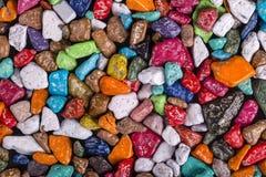 Покрашенная конфета сделанная в форме камешков проданных в магазине в Египте, конце вверх Стоковые Изображения RF