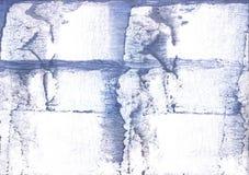 Покрашенная лавандой картина акварели Стоковая Фотография RF