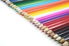 покрашенная линия карандаши Стоковая Фотография RF