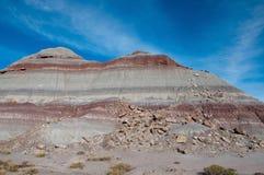 Покрашенная меза пустыни Стоковое Изображение