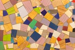 Покрашенная мозаика плиток Стоковое Изображение