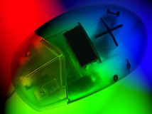 покрашенная мышь стоковые изображения rf