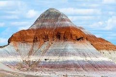 покрашенная насыпь пустыни Стоковое фото RF