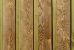 Покрашенная новая деревянная загородка Стоковое Изображение