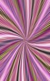 Покрашенная предпосылка волнистых нашивок расходится от середины к краям Стоковые Фото
