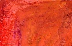 покрашенная предпосылка красной Стоковое фото RF
