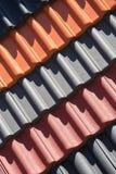 Покрашенная предпосылка плиток толя Стоковое Фото